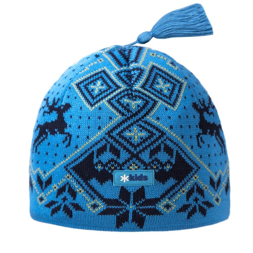 898f429d0 Detská pletená čiapka merino KAMA BW17 Ružová - Ovečkárna.sk
