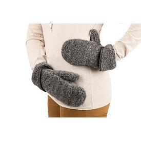 bc8560863 ... Pletený šál merino KAMA S17 Čierna · Vlnené palčiaky z ovčej vlny Tmavo  sivá